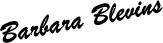 Barbara Blevins Signature